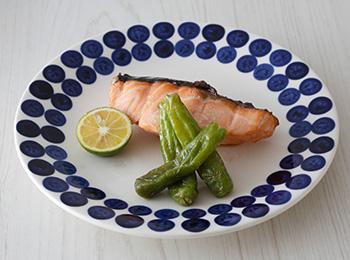 鮭の七味風味焼き