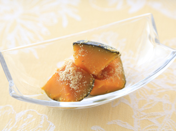 かぼちゃ煮ごま風味