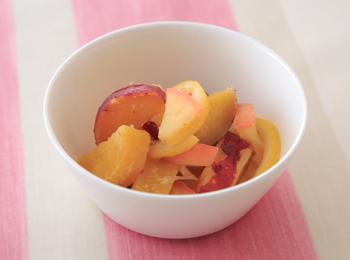 さつま芋とりんごの甘煮