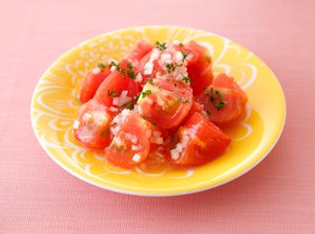 トマトのはちみつレモンマリネ