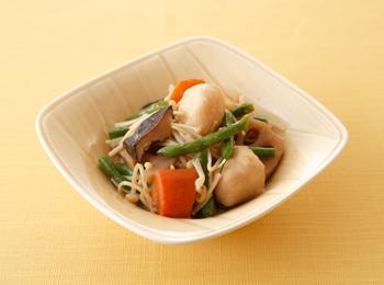 野菜炊き合せとえのきのさっと煮