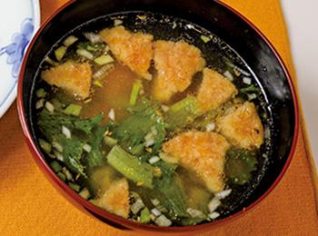 みそ玉スープ
