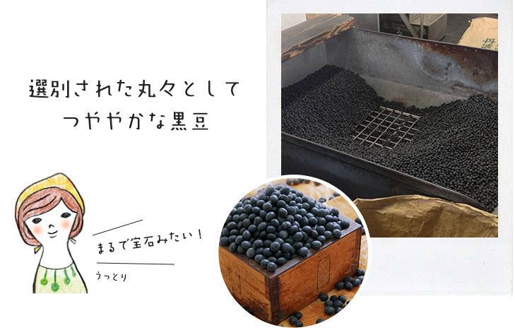 黒豆の選別
