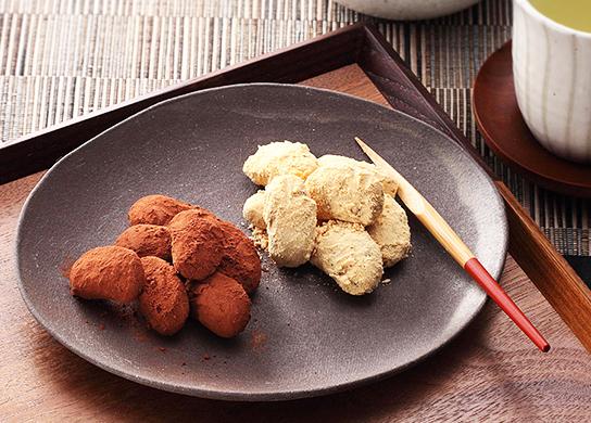 きなこ花豆&ココア豆