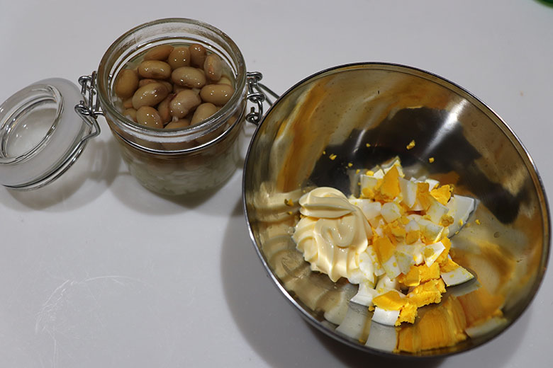 豆入りタルタル作り方