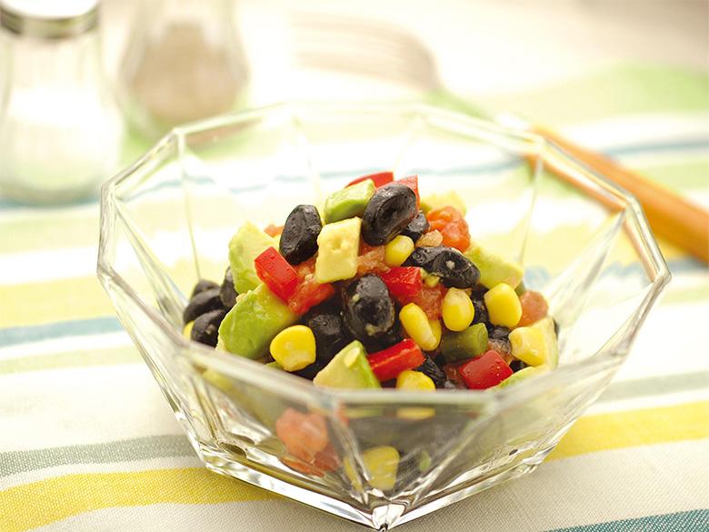 黒豆のアボカドサラダ